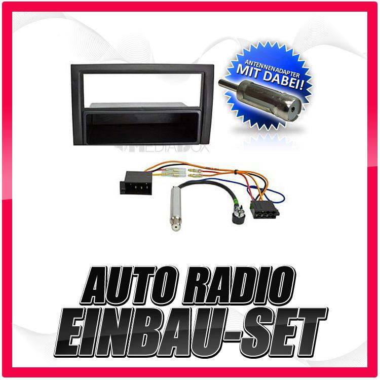 Auto-Radio-Einbau-Blende-Rahmen-Adapter-fur-SKODA-Fabia-1-2-DIN-vb-99-07