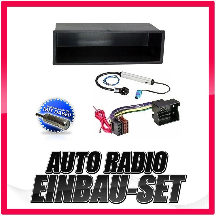 Auto-Radio-Einbau-Blende-Rahmen-Adapter-fuer-VW-Polo-4-9N-9N3-2001-2008