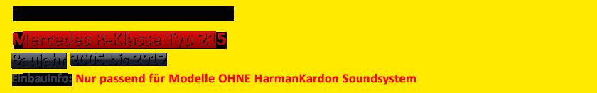 PIONEER Kompakt Verstärker für Mercedes C-Kl 202-1993-2001 Plug /& Play