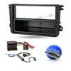 Auto Radio Einbau Blende/Rahmen+Adapter für SKODA Rapid ab 2012