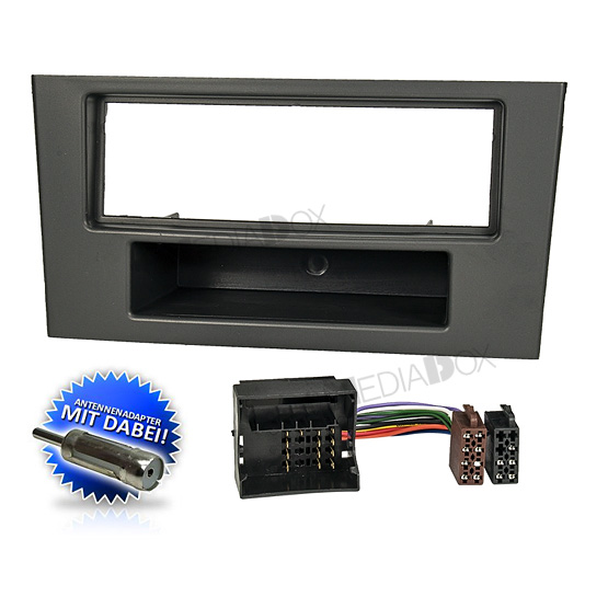 auto radioblende einbauset rahmen kabel f r ford mondeo 3. Black Bedroom Furniture Sets. Home Design Ideas