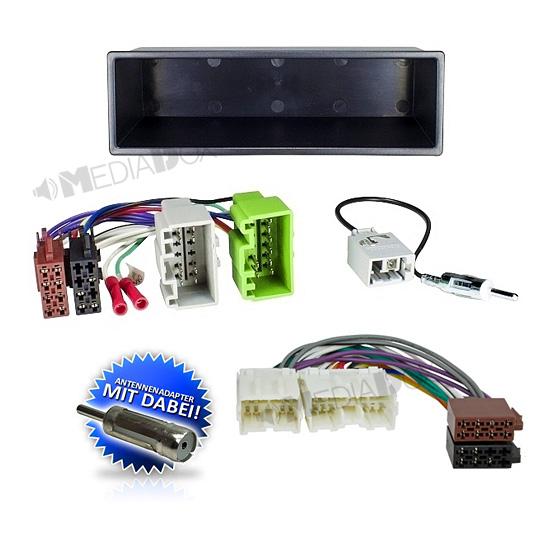 auto radio einbau blende rahmen adapter f r volvo v40. Black Bedroom Furniture Sets. Home Design Ideas