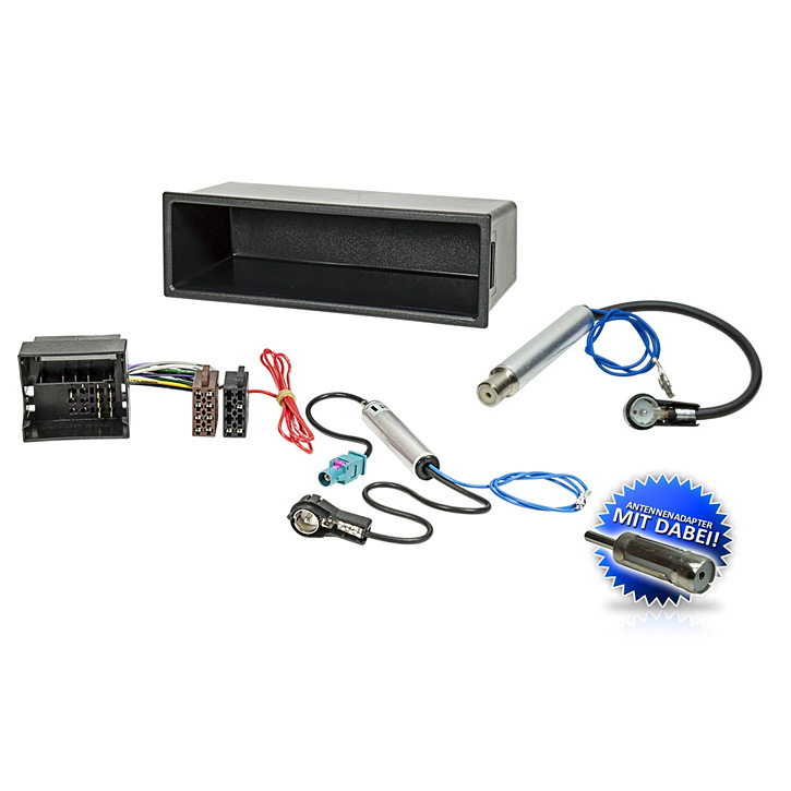 auto radioblende einbauset rahmen kabel f r vw sharan 1. Black Bedroom Furniture Sets. Home Design Ideas