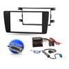 2-DIN Auto Radio Einbau Blende/Rahmen+Adapter für SKODA Fabia 2 & Roomster (VB)
