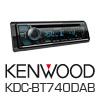 KENWOOD KDC-BT740DAB USB/iPod/iPhone/DAB/Bluteooth (KDC-BT740DAB) - PRO102