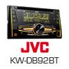 JVC KW-DB92BT 2-DIN Autoradio DAB+/DVD/USB/AUX (KW-DB92BT) PRO105