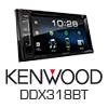 KENWOOD 2-DIN Autoradio Multimedia Receiver iPhone/DVD/MP3 (DDX318BT) PRO105