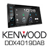 KENWOOD 2-DIN Autoradio Multimedia Receiver DAB/DVD/iPhone (DDX4019DAB) PRO105