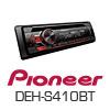 PIONEER DEH-S410BT Autoradio-Set für SEAT Ibiza 6J - 2008-02/2012