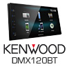 KENWOOD 2-DIN Autoradio Multimedia Receiver iPhone/USB/MP3 (DMX120BT) PRO105