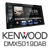 KENWOOD DMX5019DAB Autoradio-Set für SMART ForFour Typ 454 - 2004-2006