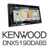 KENWOOD DNX5190DABS 2-DIN Autoradio Navigation/DVD/USB/AUX - 4x50 Watt