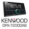 KENWOOD DPX7200DAB Autoradio-Set für SMART ForTwo 451 Facelift ab 10/2010
