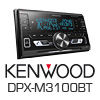 KENWOOD DPXM3100BT 2-DIN Autoradio Bluetooth/USB (DPXM3100BT) - PRO105
