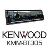 KENWOOD KMM-BT305 Autoradio-Set für Marine/Boot/Yacht/Schiff
