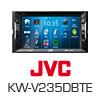 JVC 2-DIN Autoradio Multimedia Receiver iPhone/DVD/MP3 (KW-V235DBTE) PRO105