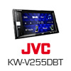 JVC 2-DIN Autoradio Multimedia Receiver iPhone/DVD/MP3 (KW-V255DBTE) PRO105