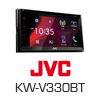 JVC 2-DIN Autoradio Multimedia Receiver iPhone/DVD/MP3 (KW-V330BTE) PRO105
