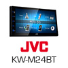 JVC 2-DIN Autoradio Multimedia Receiver iPhone/DVD/MP3 (KW-M24BT) PRO105