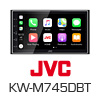 JVC 2-DIN Autoradio/Radio Carplay/Android/DAB+ (KW-M745DBT)