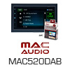 MAC AUDIO MAC520DAB 2-DIN NAVI/Bluetooth Autoradio/Radio (1508410) PRO105