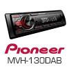 PIONEER MVH-130DAB Autoradio-Set für TOYOTA Aygo 1 - 2005-2013
