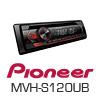 PIONEER MVH-S120UB Autoradio-Set für LKW/Truck/Bus/24 Volt/24V