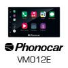 PHONOCAR 2-DIN Navigationssystem/Multimedia USB Autoradio (VM012E) PRO105