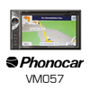 PHONOCAR VM057T 2-DIN Autoradio Navigation/DVD/SD/AUX (VM057T) -PRO105