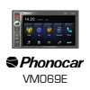 PHONOCAR 2-DIN Navigationssystem/Multimedia USB Autoradio (VM069E) PRO105