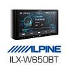 ALPINE 2-DIN Autoradio Multimedia Receiver USB/Carplay/MP3