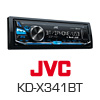 JVC KD-X341BT MP3/USB/Bluetooth Radio Autoradio/Radio - PRO102 (KD-X341BT)