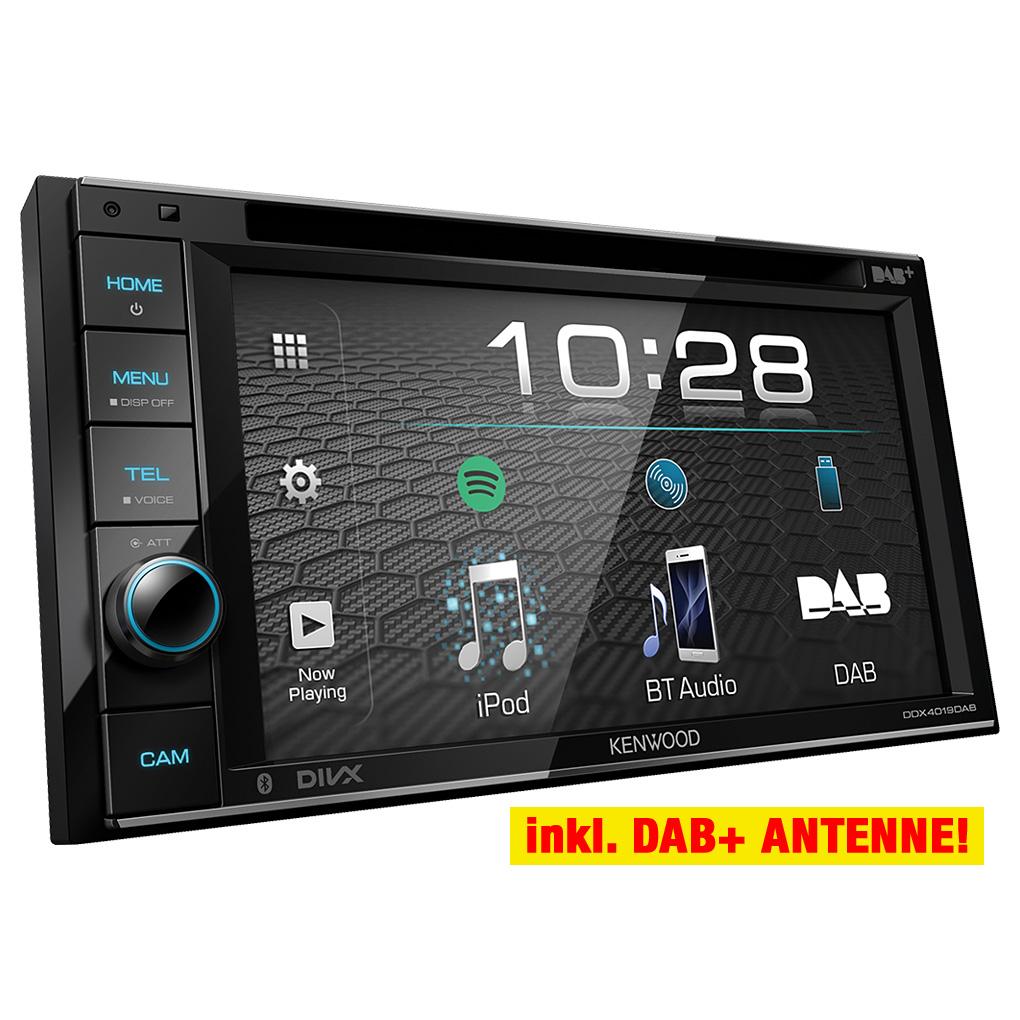KENWOOD 2-din DAB //usb//CD autoradio//radio-set pour Mercedes viano 639 /& vito 638